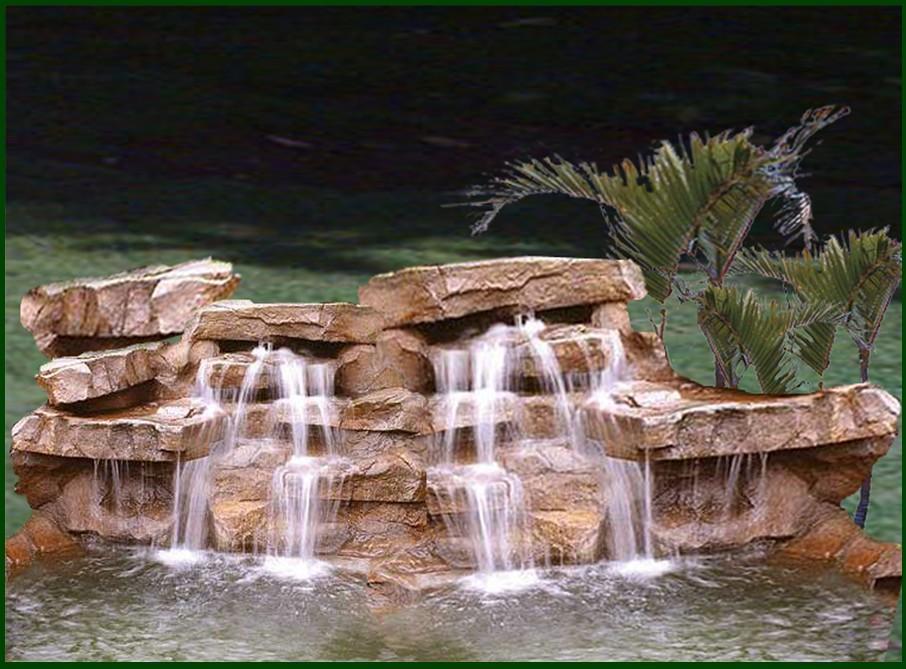 Piedras enchapes y fuentes for Piedras para cascadas